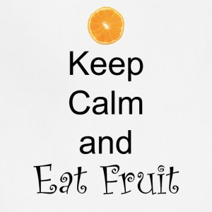Keep-Calm-and-Eat-Fruit - Adjustable Apron