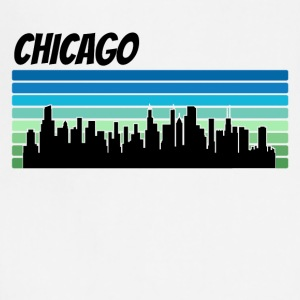 Retro Chicago Skyline - Adjustable Apron