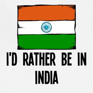 I'd Rather Be In India - Adjustable Apron