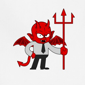 devil demon fiend deuce bogy evil - Adjustable Apron