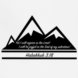 Habakkuk 3:18 - Adjustable Apron