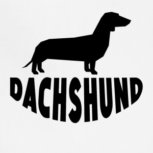 Dachshund Silhouette - Adjustable Apron