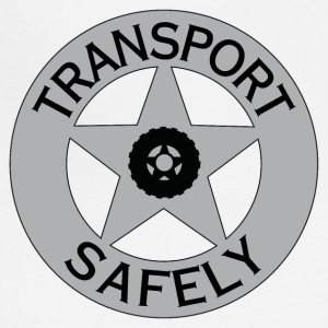 Transport Safely Logo - Adjustable Apron