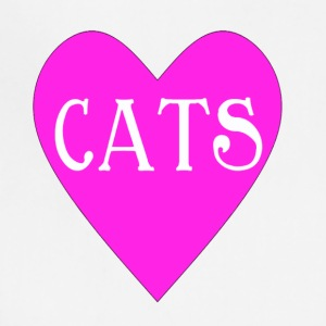 Heart For Cats - Adjustable Apron