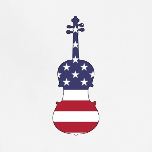 American Flag - Viola - Adjustable Apron