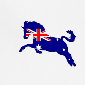 Australian Flag - Horse - Adjustable Apron