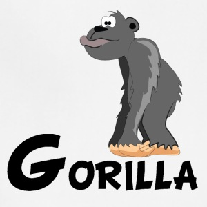 Cartoon Gorilla - Adjustable Apron