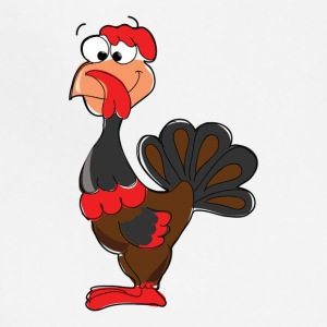 Cartoon Turkey - Adjustable Apron