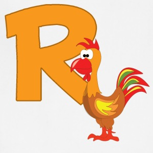 R Is For Rooster - Adjustable Apron