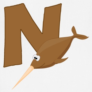 N Is For Narwhal - Adjustable Apron