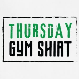 THURSDAY GYM SHIRT - Adjustable Apron