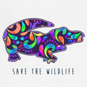 SAVE THE WILDLIFE- CROCODILE - Adjustable Apron