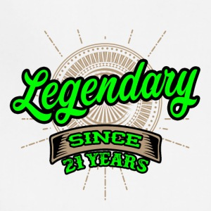 Legendary since 21 years t-shirt and hoodie - Adjustable Apron