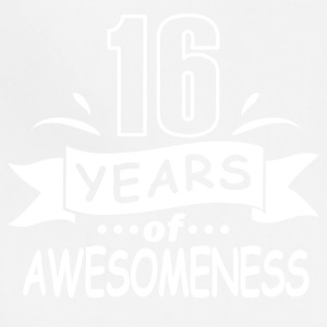 16 years of awesomeness - Adjustable Apron