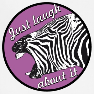zebra laugh abaout it - Adjustable Apron