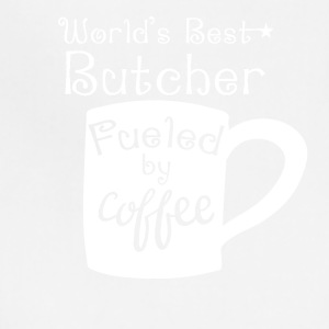 World's Best Butcher Fueled By Coffee - Adjustable Apron