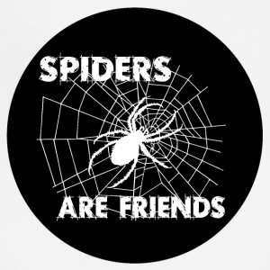 spiders are friends - Adjustable Apron