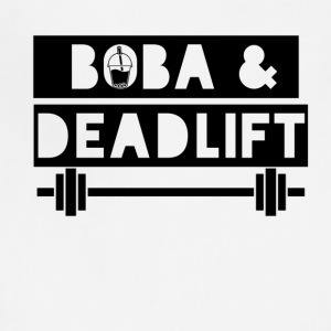 boba and deadlift - Adjustable Apron