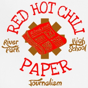 River Park High School Journalism Red Hot Chili Pa - Adjustable Apron