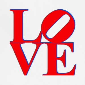 Love Park Philadelphia Sign - Adjustable Apron