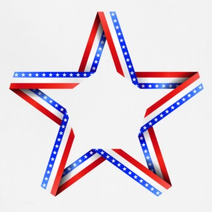 American Star print - Adjustable Apron