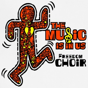 The Music Is In Us Freedom Choir - Adjustable Apron