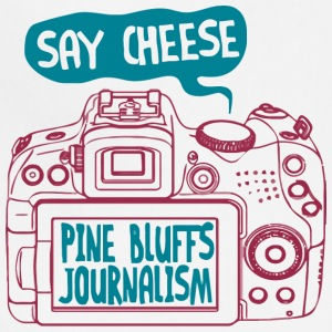 SAY CHEESE PINE BLUFFS JOURNALISM - Adjustable Apron