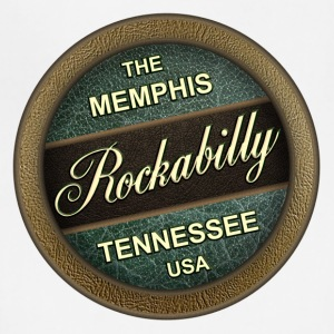 The Memphis Rockabilly Music Tennessee - Adjustable Apron