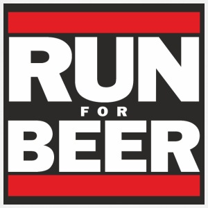 Will Run For Beer - Adjustable Apron