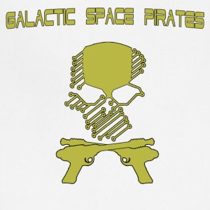 Galactic Space Pirates - Adjustable Apron