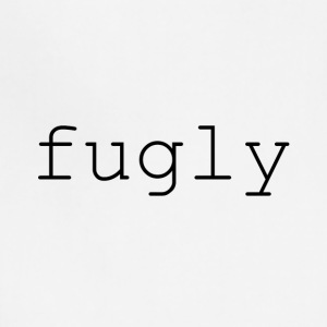 fugly (black) - Adjustable Apron