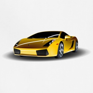 Lamborghini Sports Car Motive - Adjustable Apron