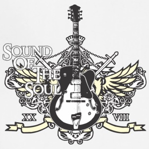 Rock is sound of the soul - Adjustable Apron