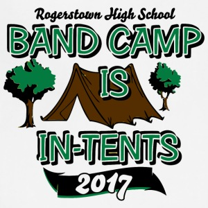 Rogerstown High School Band Camp Is In Tents 2017 - Adjustable Apron