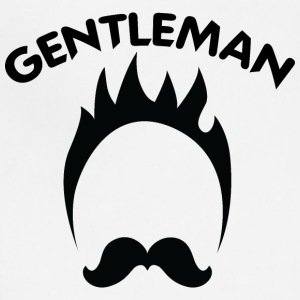 GENTLEMAN_black - Adjustable Apron