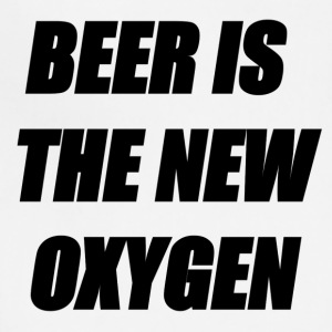 BEER IS THE NEW OXYGEN - Adjustable Apron