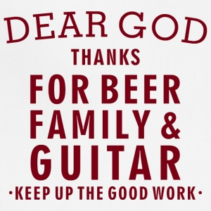 Guitar Lover - Beer Family Guitar - Adjustable Apron
