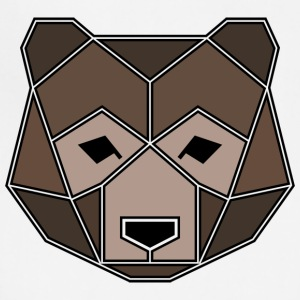 Geometric Animal: Grizzly Bear - Adjustable Apron