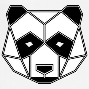 Geometric Animal: Panda Bear - Adjustable Apron