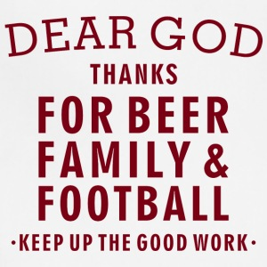 Football Lover - Beer Family Football - Adjustable Apron