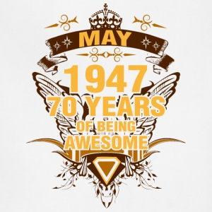 May 1947 70 Years of Being Awesome - Adjustable Apron