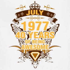 July 1977 40 Years of Being Awesome - Adjustable Apron