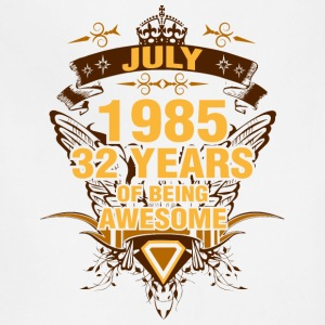 July 1985 32 Years of Being Awesome - Adjustable Apron
