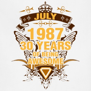 July 1987 30 Years of Being Awesome - Adjustable Apron