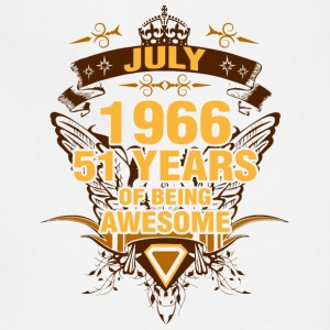 July 1966 51 Years of Being Awesome - Adjustable Apron