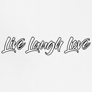 Live Laugh Love - Adjustable Apron