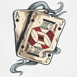 gambling_cards_Ace_and_Jack - Adjustable Apron