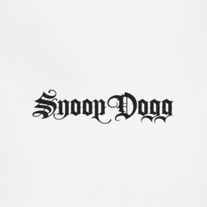 snoop dog logo - Adjustable Apron