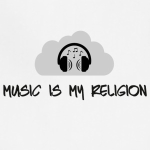 music_is_my_religion_ - Adjustable Apron