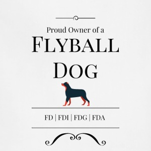 Proud Owner of a Flyball Dog - Adjustable Apron